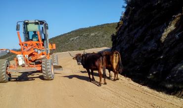 JMM Demolições nas obras para Rali de Portugal